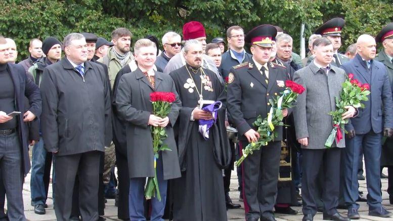 меморіальний камінь на честь героїв АТО - 4