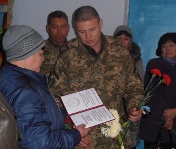 Вшановуваня пам'яті загиблого в зоні АТО Віктора Бошняка - 02