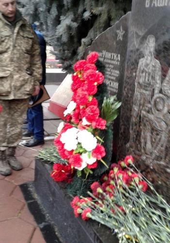 29 річниця з дня виведення військ з Афганістану - Велика Михайлівка - мітинг - 06