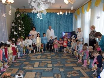 День Святого Николая - пограничники Измаильского отряда поздравили детей - 7