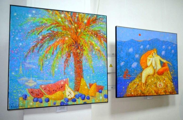 Выставка Екатерины Лемешевой «Путешествие в страну Солнца» - Измаил - 02