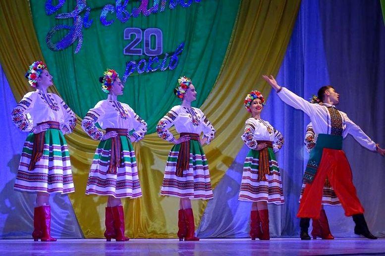 Народний ансамбль танцю «Придунав'я» - ювілейний концерт - 09