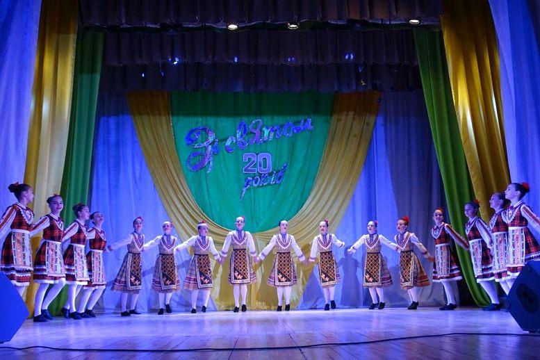 Народний ансамбль танцю «Придунав'я» - ювілейний концерт - 10