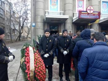Прощання із поліцейським Сергієм Пригаріним - Одеса - 01