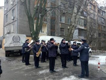 Прощання із поліцейським Сергієм Пригаріним - Одеса - 02