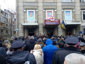 Прощання із поліцейським Сергієм Пригаріним - Одеса - 03