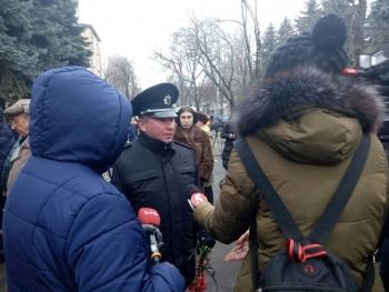 Прощання із поліцейським Сергієм Пригаріним - Одеса - 04