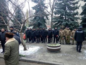 Прощання із поліцейським Сергієм Пригаріним - Одеса - 05