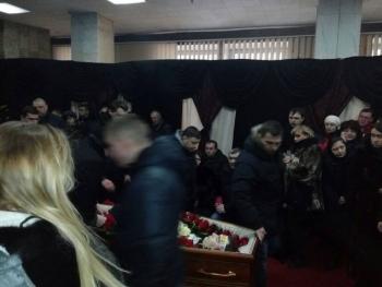 Прощання із поліцейським Сергієм Пригаріним - Одеса - 06