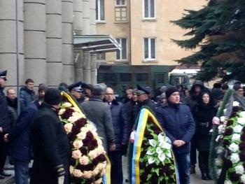 Прощання із поліцейським Сергієм Пригаріним - Одеса - 07