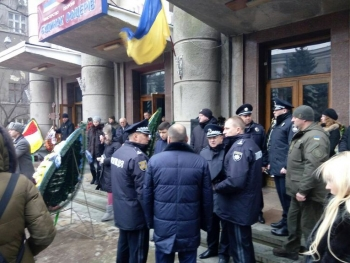 Прощання із поліцейським Сергієм Пригаріним - Одеса - 08