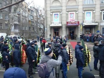 Прощання із поліцейським Сергієм Пригаріним - Одеса - 10