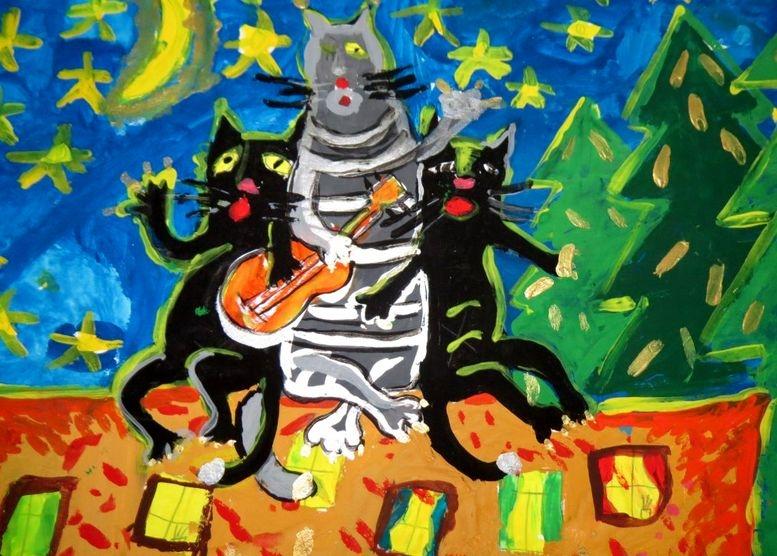 Арт-проект «Новогодняя феерия» - Измаил - 06