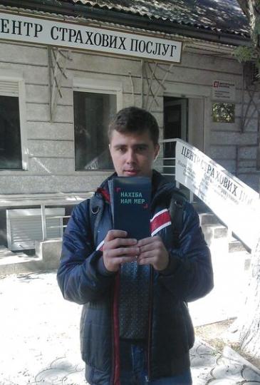 """Розповсюдження флаєра """"Нахіба нам мер"""" - Татарбунари - 1"""