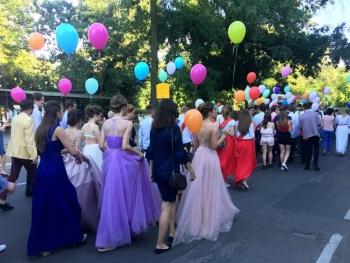 праздничный парад «Выпускник-2018» - Измаил - 10
