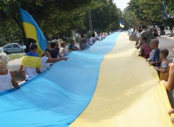 Измаил отметил 25-ю годовщину независимости Украины-3