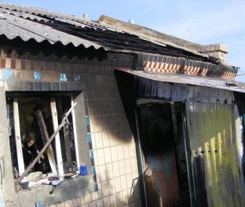 Пожежа в селі Перехрестове - 3