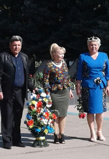 Мітинг-реквієм - 32-річниця Дня Чорнобильської аварії - Велика Михайлівка - 01
