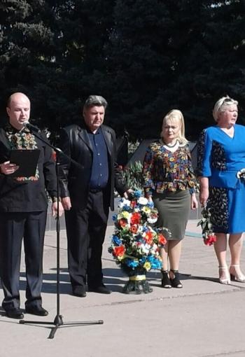 Мітинг-реквієм - 32-річниця Дня Чорнобильської аварії - Велика Михайлівка - 02
