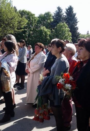 Мітинг-реквієм - 32-річниця Дня Чорнобильської аварії - Велика Михайлівка - 03
