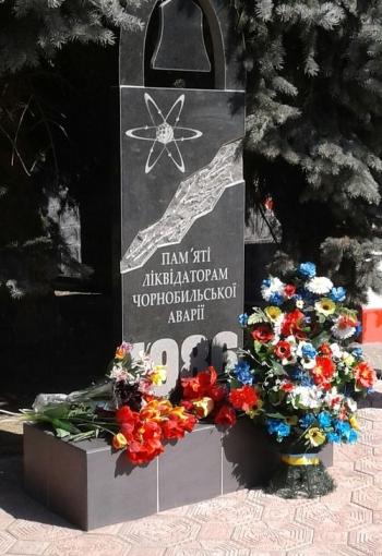 Мітинг-реквієм - 32-річниця Дня Чорнобильської аварії - Велика Михайлівка - 06