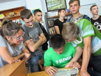 Квест-гра «Детективне «бібліоагенство» - бібліотека - Татарбунари - 06