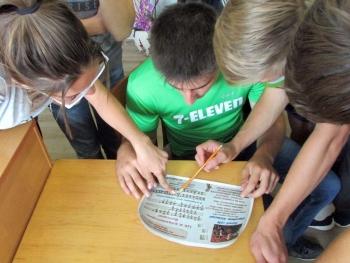 Квест-гра «Детективне «бібліоагенство» - бібліотека - Татарбунари - 07