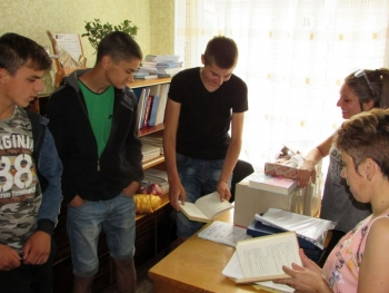 Квест-гра «Детективне «бібліоагенство» - бібліотека - Татарбунари - 09