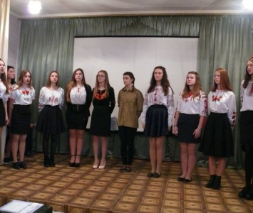 Вечір «Жива пам'ять про героїв Революції гідності» - Саврань - 03