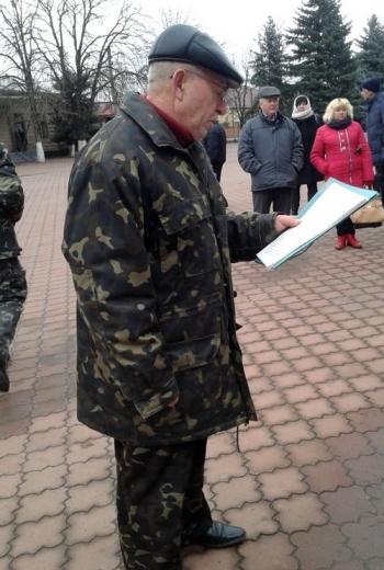 Мітинг працівників Великомихайлівського держлісгоспу - 08
