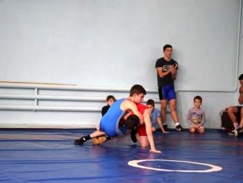 учебно-тренировочные схватки по вольной борьбе - Измаил - 01
