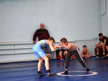 учебно-тренировочные схватки по вольной борьбе - Измаил - 04