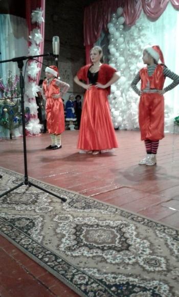 новорічне свято для дітей - Велика Михайлівка - 03