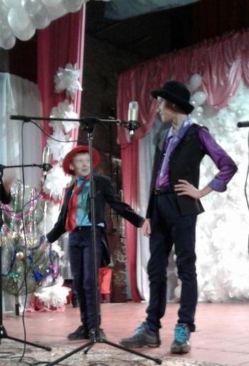 новорічне свято для дітей - Велика Михайлівка - 05