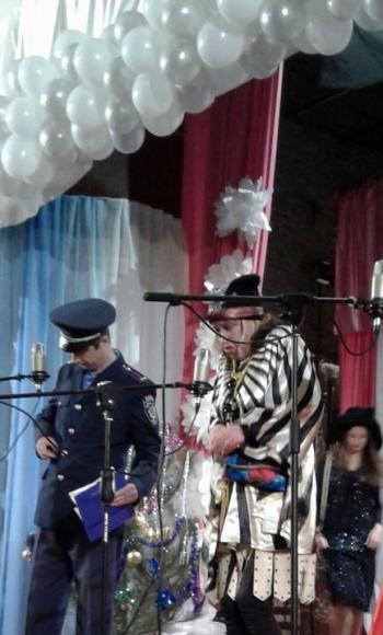 новорічне свято для дітей - Велика Михайлівка - 06