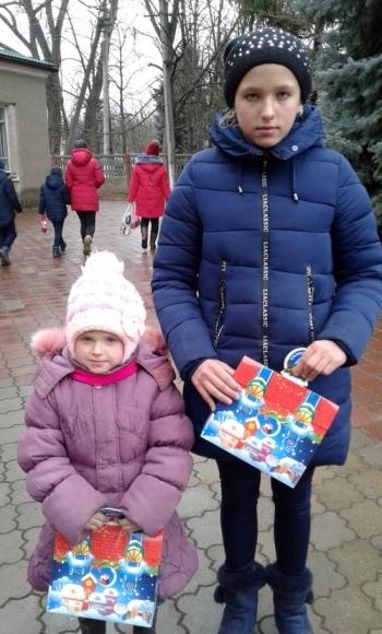 новорічне свято для дітей - Велика Михайлівка - 08