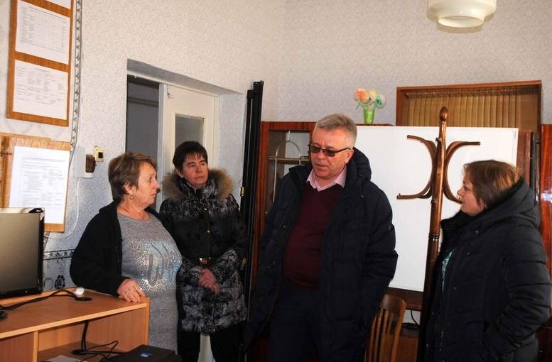 Депутат Одеської облради Олександр ОСТАПЕНКО - робочий візит - Балтський район - 05