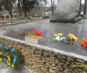 У Миколаївці вшанували пам'ять героїв Крут - 06