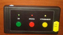 Депутати - голосування - Роздільна