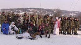 Різдвяний вертеп для прикордонників - Балтський район - Тимково