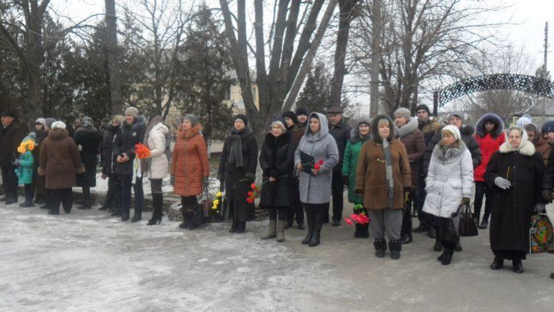 У Миколаївці вшанували пам'ять героїв Крут