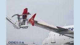 Одеський аеропорт - складні погодні умови