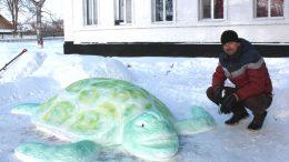 Снігове містечко - Саврань