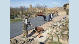 Аккерманскую крепость укрепляют