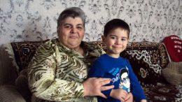 Александра ПАРПУЛАНСКАЯ с внуком