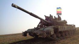 Навчання танкістів - 28-а бригада