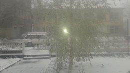 Роздільна в снігу