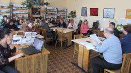 Засідання «Школи секретарів місцевих рад»