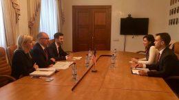 зустріч із дипломатом економічного відділу Посольства США Уорреном Вілсоном