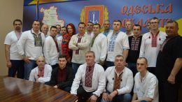 День вишиванки - поліцейські Одещини